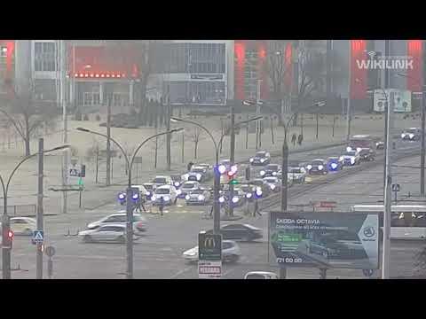 Московская - Пионерская. ДТП. 21.02.2020. Брест