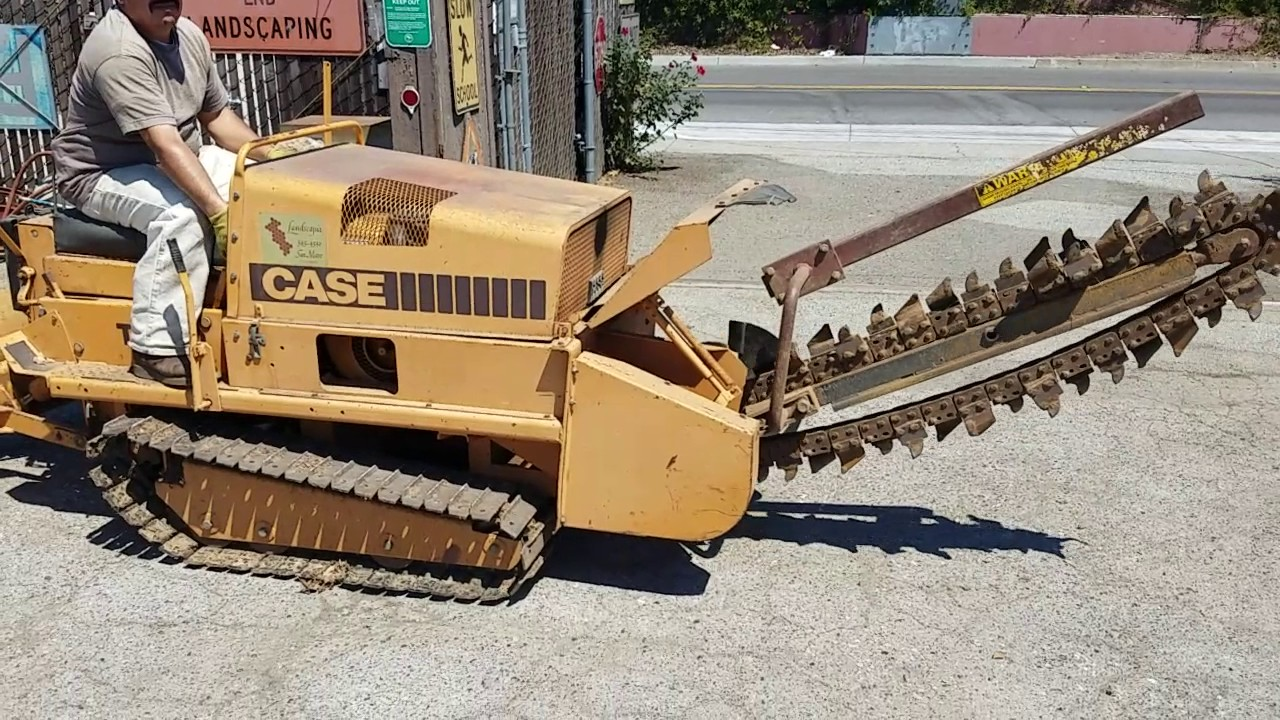 case tf300 trencher youtube rh youtube com Trencher Problems case tf300 trencher parts manual