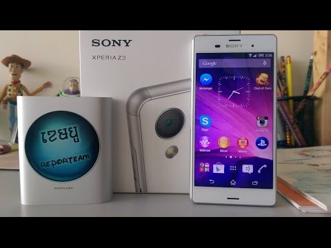 Sony XPERIA Z3  Review by Cambo Report