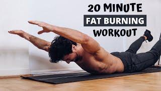 20 MIN FAT BURNING WORKOUT | No Equipment | Rowan Row