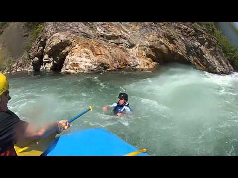 Middle Fork American River Whitewater Rafting with GoPro