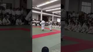 大阪市少林寺拳法連盟大会   剛柔一体の運用法  発表の部
