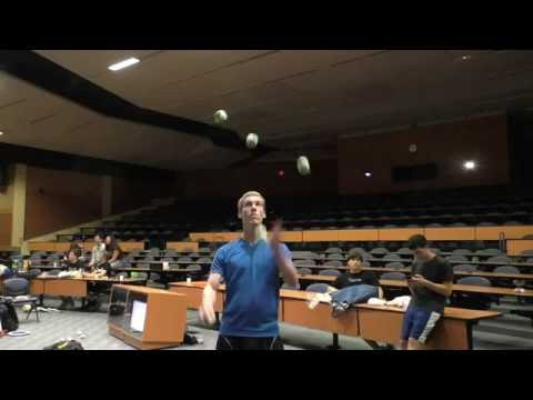 5 ball claw catches - Jeremy Foxcroft - World Record