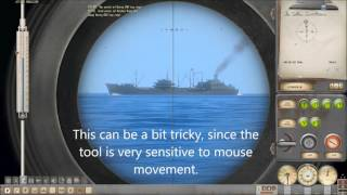 Silent Hunter 4 U boat mission - How to make a realistic attack maneuver