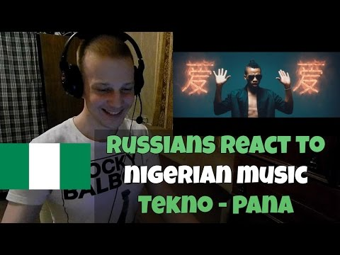 RUSSIANS REACT TO NIGERIAN MUSIC - Tekno - Pana (REACTION)