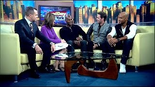 boris Kodjoe, William Levy & Tyson Beckford Dish on their Steamy Sex Scenes in