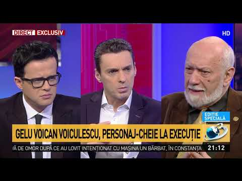 Gelu Voican Voiculescu rupe tăcerea după 30 de ani de la Revoluție