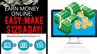 How to work from home and make money writing articles online 2018 - get paid easy job