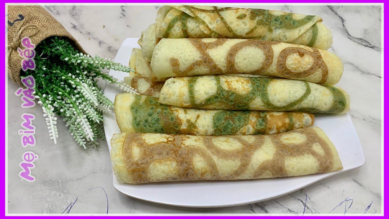 Bánh làm từ bột mì  Cách làm bánh tráng kẹp đơn giản tại nhà