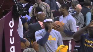 Listen In to Tristan Thompson during Cavs vs. Suns