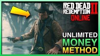 Red Dead Redemption 2 Online - AMAZING MONEY METHOD in Red Dead Online! Easy Money in RDR2 Online!