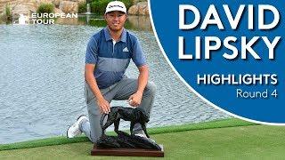 David Lipsky Winning Highlights   Alfred Dunhill Championship 2018