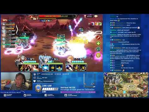 [NA] King's Raid Challenge Raid Kerberen Hell Mode (Mechanics Ban)