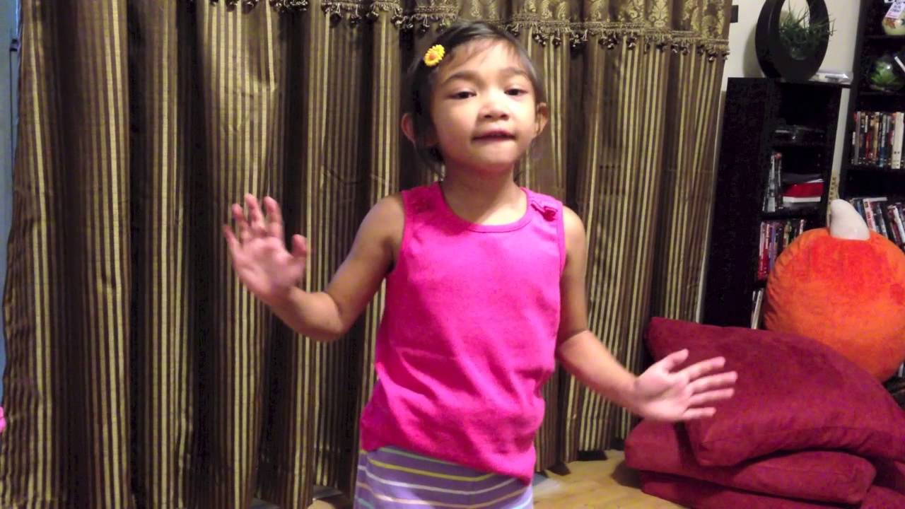 5 Yr Old Singing Just Give Me a Reason (Pink) - Angelica ...
