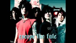 Escape the Fate - Dragging Dead Bodies In Blue Bags Up Really Long Hills lyric video
