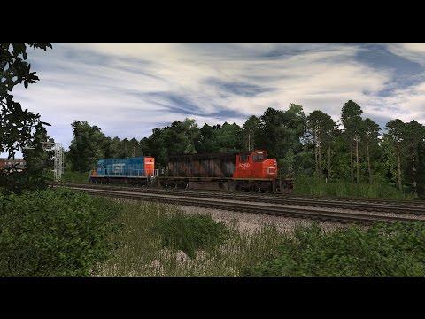 Trainz 12 CN SD40-2W Cabride