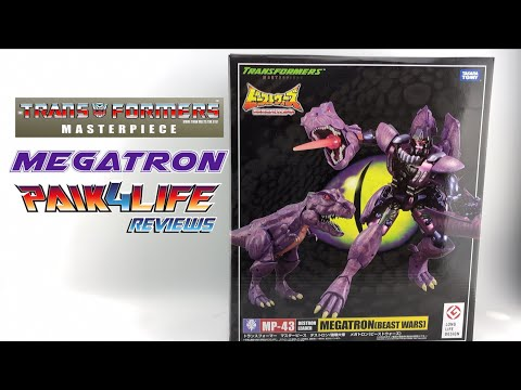 (FIXED) Transformers Masterpiece MP-43 Megatron Beast Wars // P4L Reviews