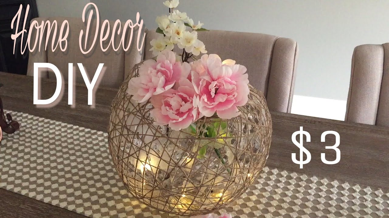 Home Decor Diy Huge Decorative Ball Diy Dollar Tree Diy