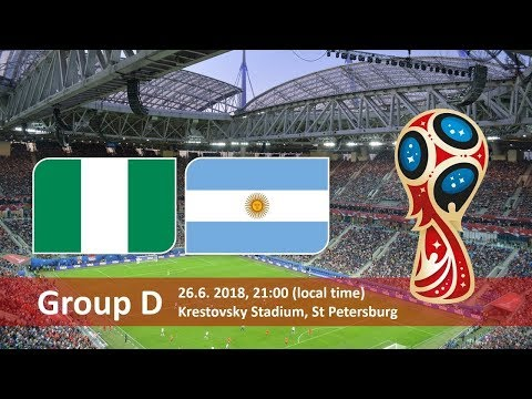 World Cup 2018. Game 40 of 64. Argentina vs Nigeria. Full match