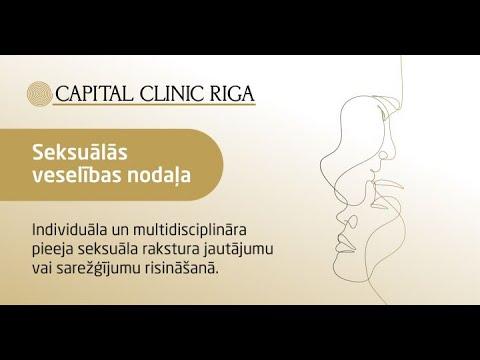 Capital Clinic Riga Seksuālās veselības nodaļa
