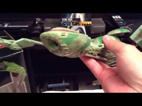 Diamond Select/Art Asylum HMS Bounty Klingon bird of prey review
