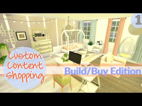 The Sims 4: Let's go CC Shopping with Dee: Build and Buy CC