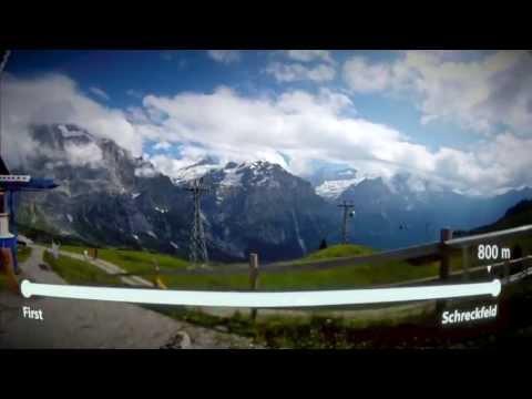 First Flyer POV [Jungfraubahnen Switzerland]