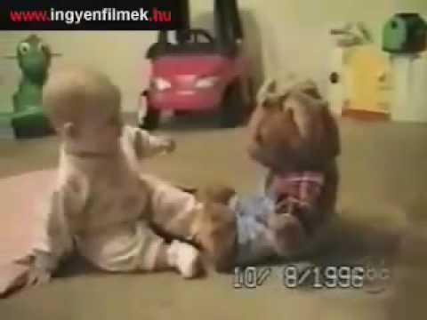 caidas graciosas de bebes.flv