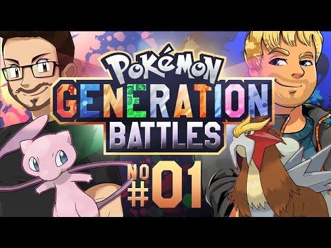 Pokemon Generation Battle w/ Dobbs [GEN 1 VS. GEN 2]