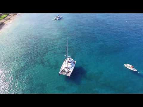 Hawaii - Hula Girl Sailing Restaurant & Bar Catamaran Departing from Maui