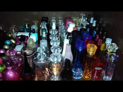 Mini Vlog Organizando Minha Coleção de Perfumes