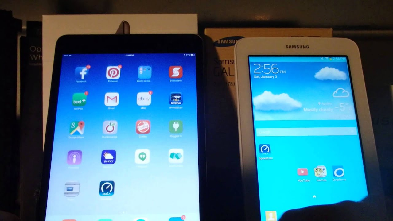 samsung tab 3 lite vs ipad mini 3 with retina youtube. Black Bedroom Furniture Sets. Home Design Ideas