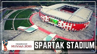 Spartak Moscow Stadium in Moscow