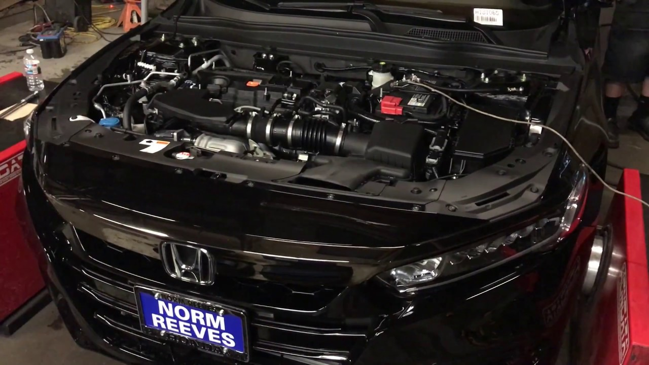 0l Honda Accord Dyno Baseline