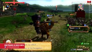 More Hyrule Warriors Darunia footage