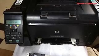 Hp Laserjet 100 color m175 cartridge remove n install