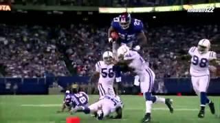 NFL Hard Hits With Dubstep(AHHH YEAAAA)