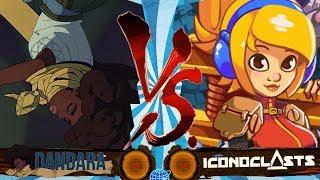 DANDARA Vs ICONOCLASTS   Metroidvania Match-Up