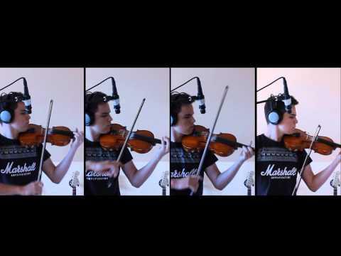 BVB - Overture FULL Violin Cover