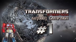 Transformers War for Cybertron Walkthrough - Autobot Campaign Part 1 - The Origin of Optimus Prime (G1) & Story