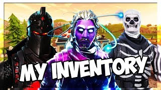 MY ENTIRE FORTNITE INVENTORY (GALAXY SKIN, BLACK KNIGHT, AND MORE) Fortnite Battle Royale