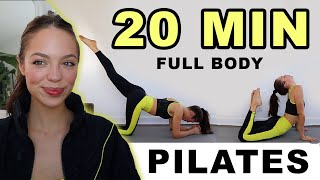 20 MIN FULL BODY WORKOUT! (Beginner/ No Weights)