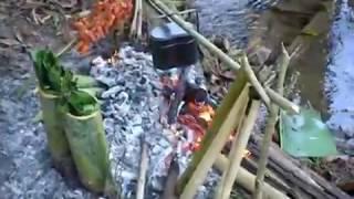 เที่ยวนำตกริมลำธาร ก่อกองไฟ ทำอาหารแบบบ้านๆ