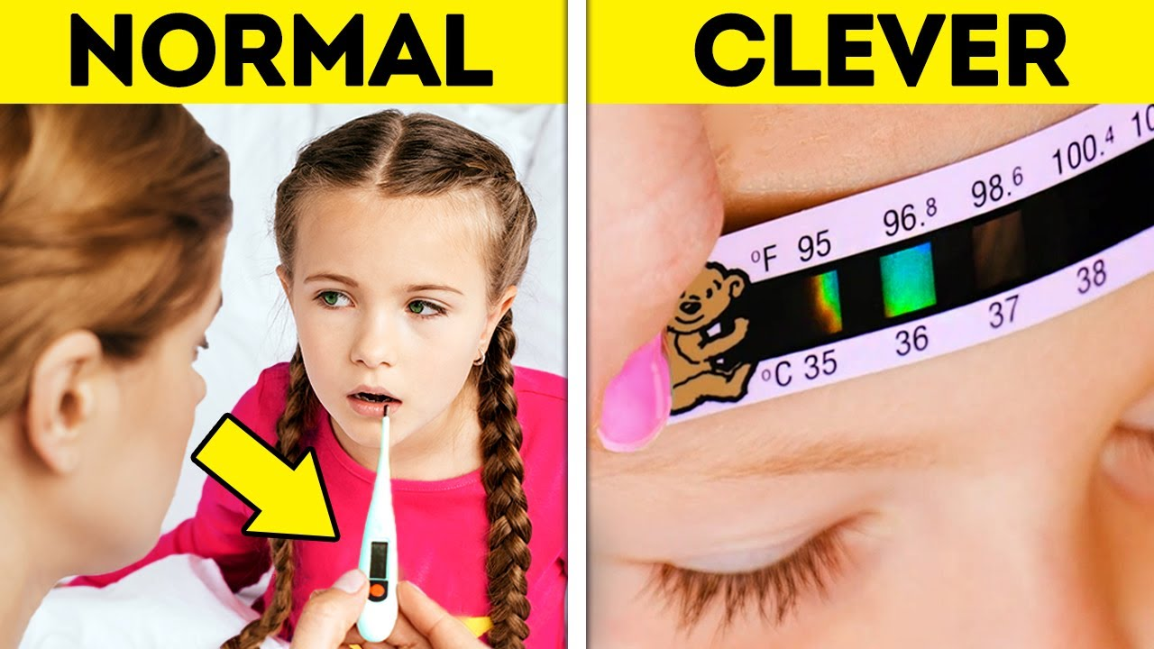 NORMAL PARENTS VS. CLEVER PARENTS || Cool Parenting Hacks And Gadgets For Any Situation