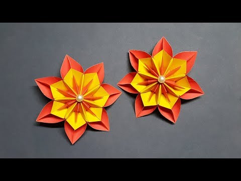 Amazing Paper Flowers for Home Decoration | How to Make Paper Flower Easy | DIY Paper Crafts