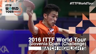 2016 Slovenia Open Highlights: Joo Se Hyuk vs Wong Chun Ting (1/4)(Review all the highlights from the Joo Se Hyuk vs Wong Chun Ting (1/4) from the 2016 Slovenia Open Subscribe here for more official Table Tennis highlights: ..., 2016-06-04T22:45:36.000Z)
