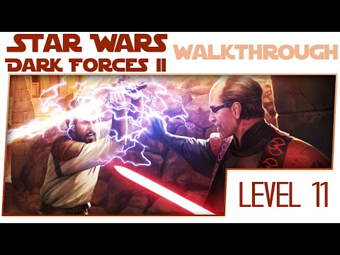 Star Wars Dark Forces 2 HD Remake Walkthrough - Level 11 - The Brothers of the Sith [No Commentary]