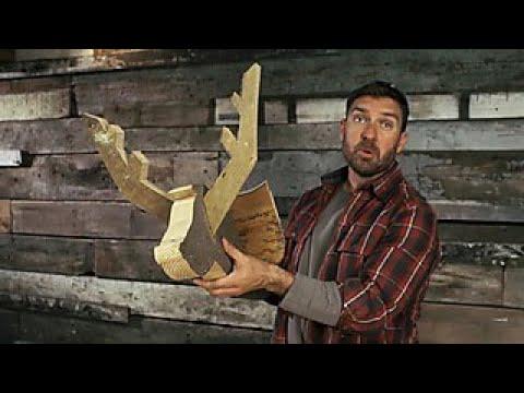 How to Make a Barnwood Deer Head - DIY Network