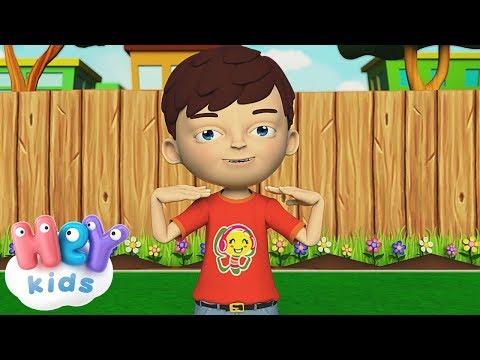 Głowa Ramiona Kolana Pięty - Piosenki dla dzieci