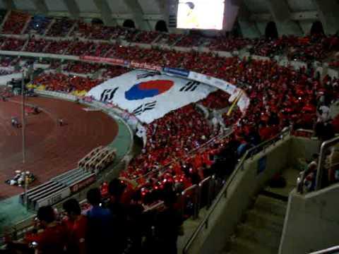 Asiad Stadium Busan - public viewing in Korea